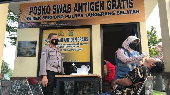 Polres Tangerang Selatan Fasilitasi Swab Antigen Gratis, Ini 9 Lokasi Pelaksanaan Tes