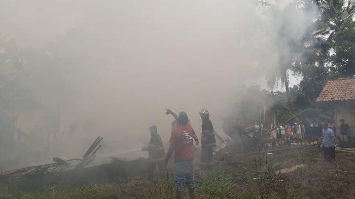 Rumah Pimpinan Ponpes di Pandeglang Terbakar, Korban Terluka Karena Selamatkan Kitab-kitab