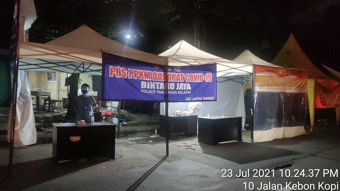 Ombudsman Temukan Posko Penyekatan di Tangsel Kosong Melompong saat PPKM Darurat