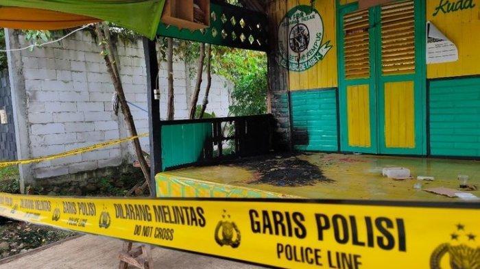 Penyerangan Posko Ormas di Tangsel, Pelaku Diduga 4 Orang Bawa Senjata Tajam