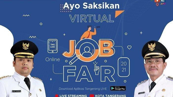 LINK Live Streaming Virtual Job Fair Kota Tangerang 2021