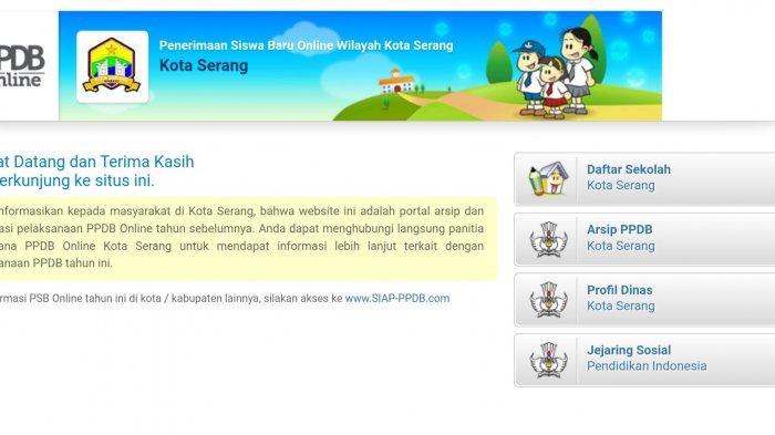 PPDB Online Tingkat SMP Kota Serang Tahun 2021 Dibuka, Klik Website Ini & Berikut Jadwalnya