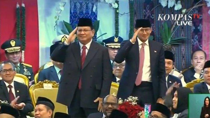 Prabowo-Sandiaga Uno Dapat Nilai Kepuasan Tertinggi dari Masyarakat, Apa Indikatornya ?