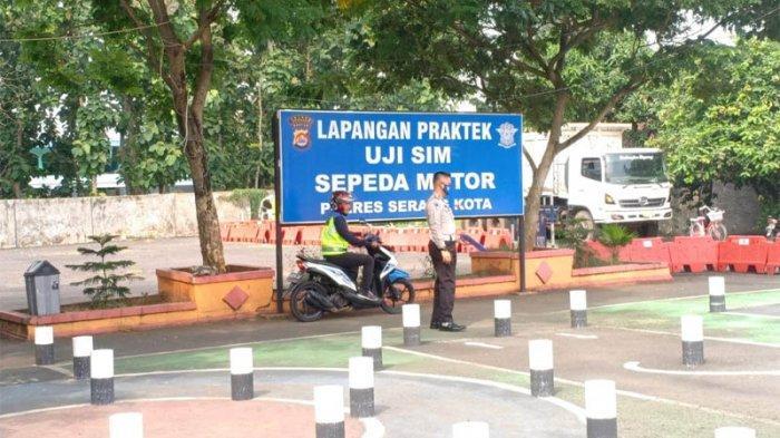 Cegah Kecelakaan, Polres Serang Kota Lakukan Cek Kendaraan Besar dan Penertiban SIM