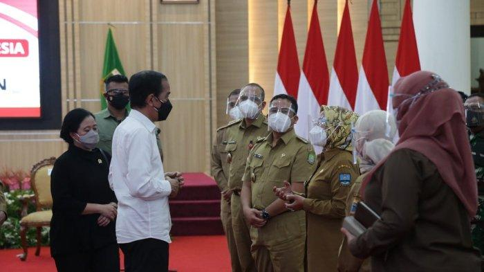 Jokowi Apresiasi Pemprov Banten Atas Penurunan Angka Penularan Covid-19 yang Mencapai 70 Persen
