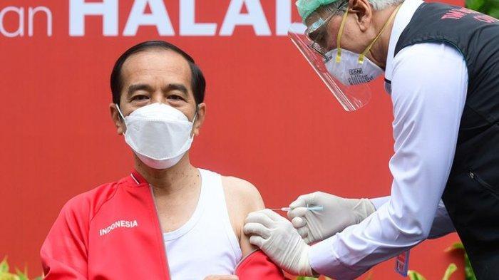 Total Kasus Positif Covid-19 Tembus 1,6 Juta, Jokowi: Pandemi Masih Ada, Eling Lan Waspodo