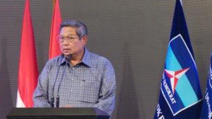 Presiden ke-6 RI sekaligus mantan Ketua Umum Partai Demokrat Susilo Bambang Yudhoyono (SBY).
