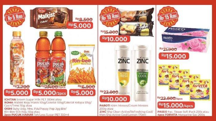 Katalog Promo Alfamart Hari Ini 5 - 6 Juli 2021, Promo Serba Rp 5 Ribu & Beli 1 Gratis 1 Aneka Snack