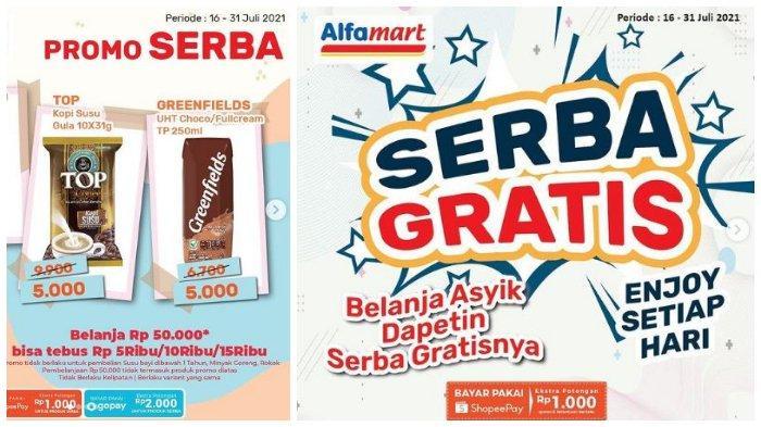 Promo Weekdays Alfamart 21-22 Juli 2021, Diskon hingga 41% & Promo Serba Rp 5 Ribu