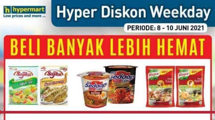 Katalog Promo Hypermart Terbaru, Beli Banyak Lebih Hemat! Sajiku Bumbu All Variants Beli 3 Rp 5.000