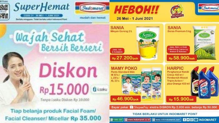 Katalog Promo Indomaret Super Hemat 26 Mei - 1 Juni 2021, Bayar Pakai Shopee Pay Ekstra Diskon!