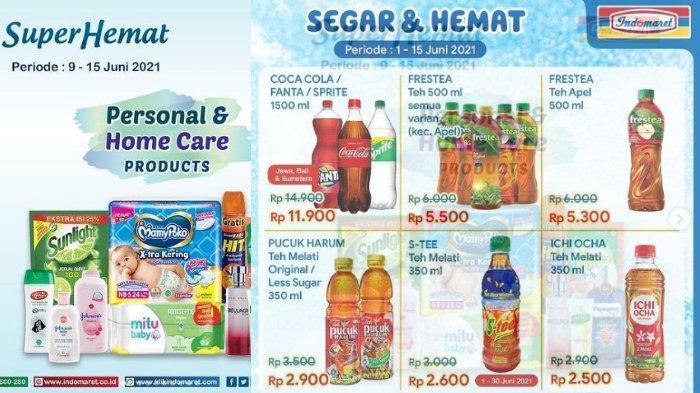 Promo JSM Indomaret, Product Of The Week Super Hemat Pucuk Harum Rp 2.900, Ichi Ocha Rp 2.500