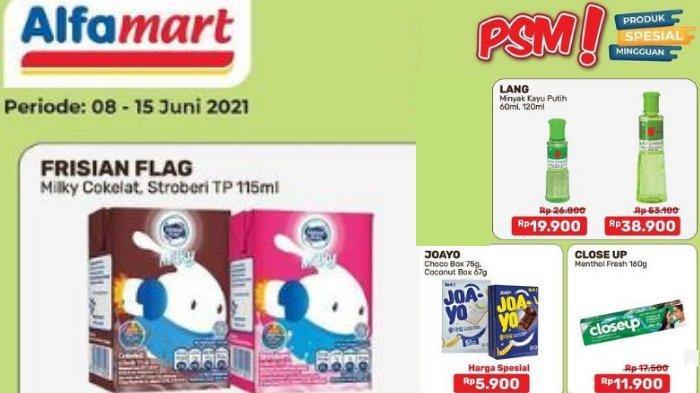 Promo Alfamart Terbaru 10-15 Juni 2021 Frisian Flag Beli 2 Hanya Rp 5.000, Ekstra Diskon Pakai Gopay