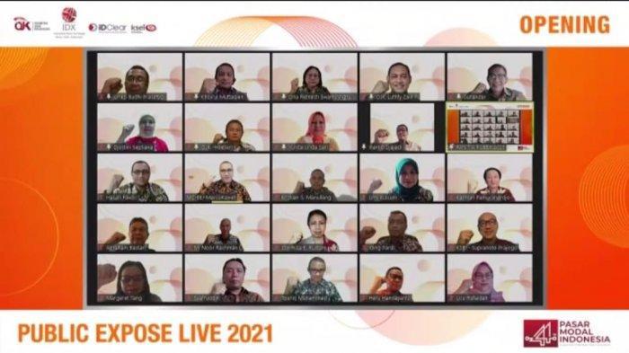 BEI Gelar Public Expose LIVE 2021 Selama Lima Hari, Menampilkan 50 Perusahaan Tercatat