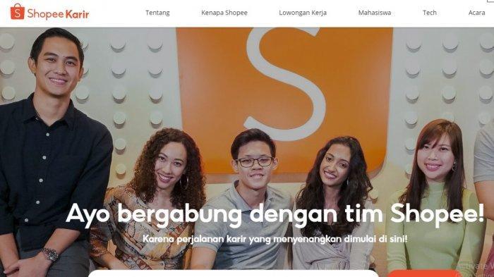 Lowongan Kerja Banten, Shopee Indonesia Buka Sejumlah Posisi, Simak Syarat dan Link Daftarnya