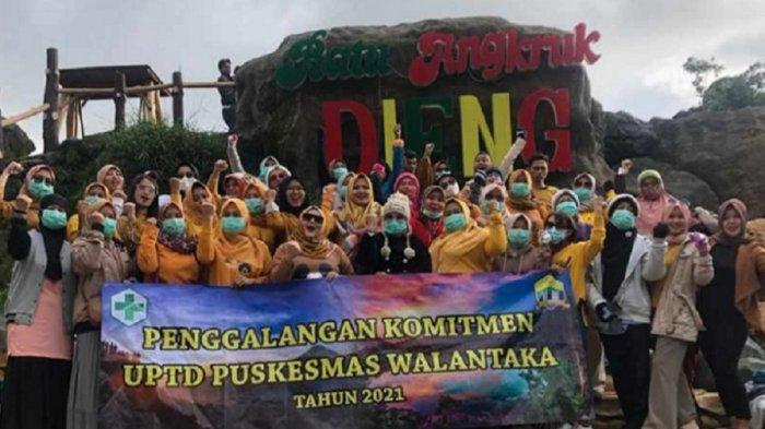 Sedang Zona Merah, Puluhan Nakes Kota Serang Kedapatan Liburan ke Jateng, Kadinkes Justru Mendukung