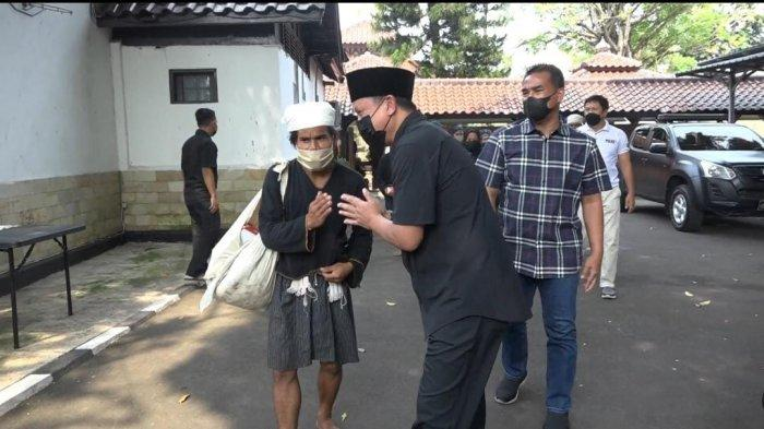 Pertama Kali dalam Sejarah, Perwakilan Masyarakat Baduy Datangi Rumah Dinas Kapolda Banten