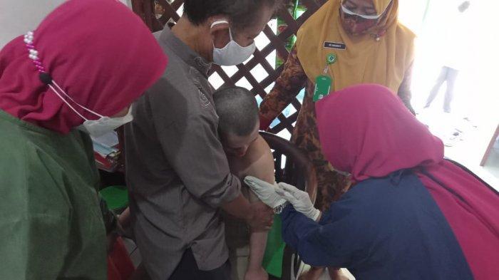 Baru 32 Penyandang Disabilitas di Kecamatan Cikande Divaksin