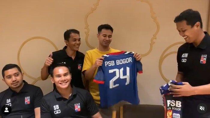Setelah Cilegon United, Raffi Ahmad Temui Petinggi PSB Bogor, Akan Diakuisisi Juga?