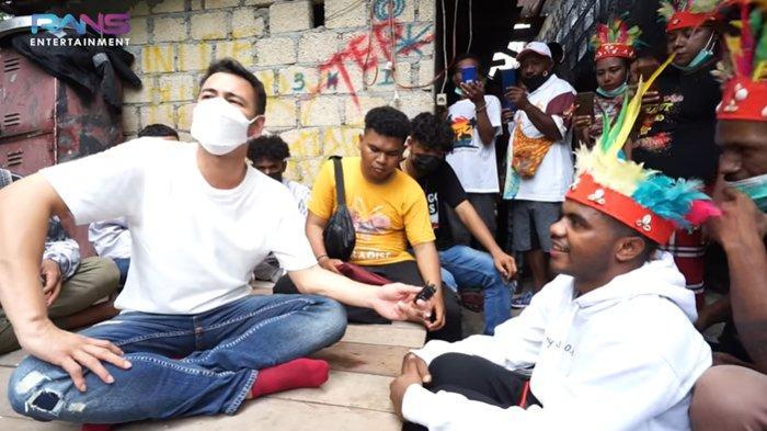 Nyanyi 'Jang Ganggu' Bareng Shine of Black di Papua, Raffi Ahmad Ajak Kolabs: Kita Nanti ke Jakarta