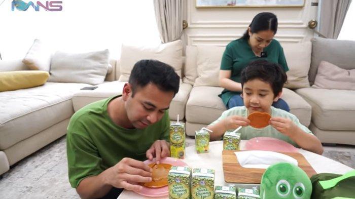 Raffi Ahmad, Nagita, dan Rafathar Ikut Tantangan Permen Dalgona Squid Game, Siapa Pemenangnya?
