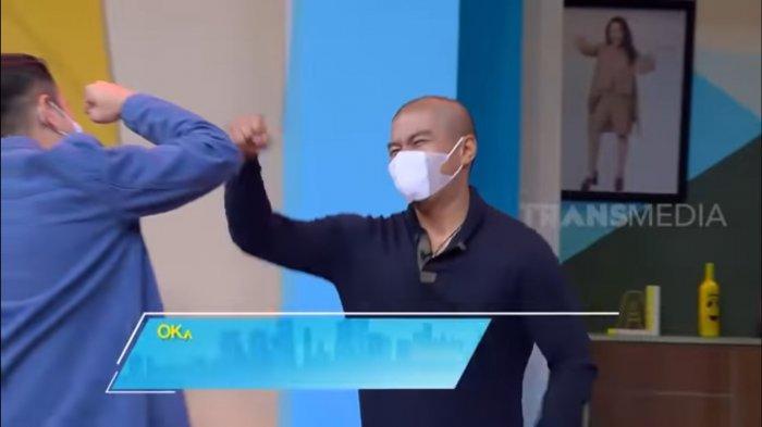 Raffi Ahmad Syok Badan Bams Eks Samson Berubah jadi Roti Sobek: Kayak Petinju, Bro