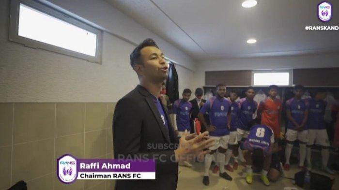 Pulang dari Turki, Raffi Ahmad Bocorkan Rans Cilegon FC Akan Bertanding dengan Inggris dan Spanyol