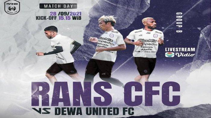 Hasil Liga 2: Bermain 10 Orang, RANS Cilegon FC Takluk 1-3 atas Dewa United