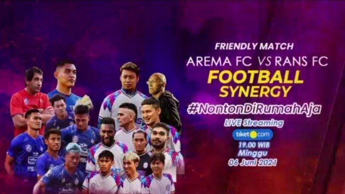 Hasil Arema FC Vs Rans Cilegon FC - Klub Raffi Ahmad Kelah Telak, Ada Gol Bunuh Diri