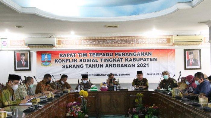 Pilkades Serentak Kabupaten Serang, Tim Terpadu Lakukan Pemetaan untuk Mengantisipasi Konflik