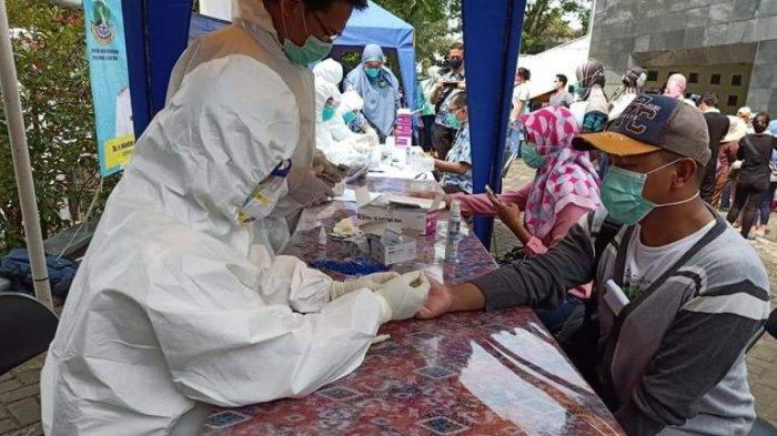 3.085 Orang di 5 Wilayah di Banten Rapid Test Covid-19, Ini Hasilnya