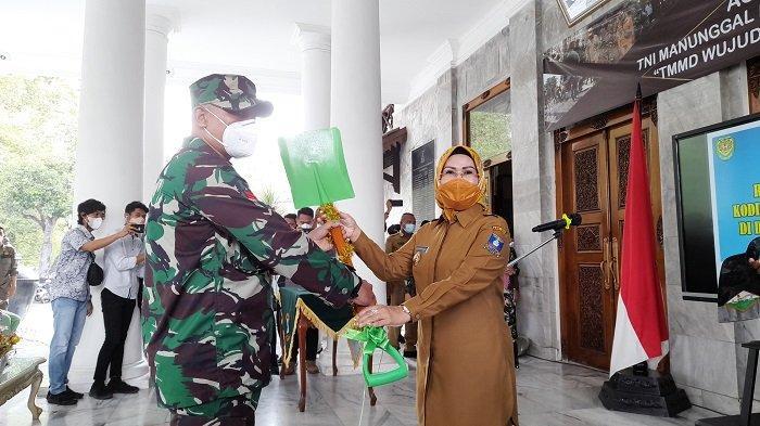 Bupati Ratu Tatu Nyatakan Siap Berikan Dukungan Kegiatan TMMD Kodim 0602 Serang