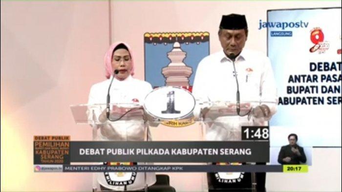 LSI Denny JA: Pasangan Petahana Ratu Tatu-Pandji Tirtayasa Unggul di Kabupaten Serang