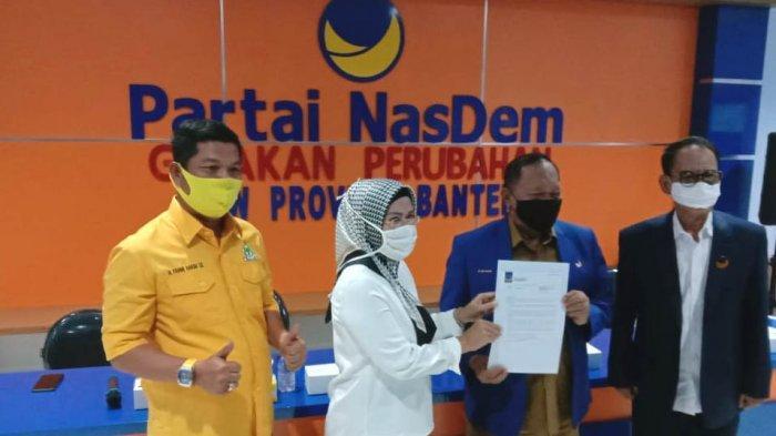 Ratu Tatu Borong Dukungan Parpol, Kali Ini Giliran Nasdem Banten Beri Dukungan