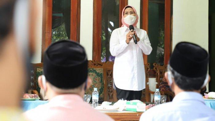 Calon Bupati Serang Ratu Tatu Chasanah terus melakukan roadshow kampanye ke sejumlah kecamatan.