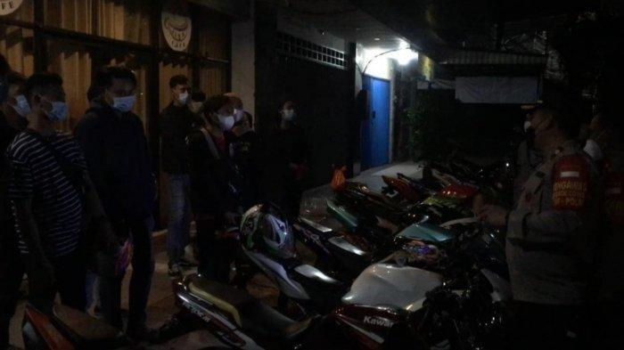 Nongkrong Saat PPKM Darurat, Anggota Klub Motor Digiring Polisi dan Wajib Dijemput Orangtua