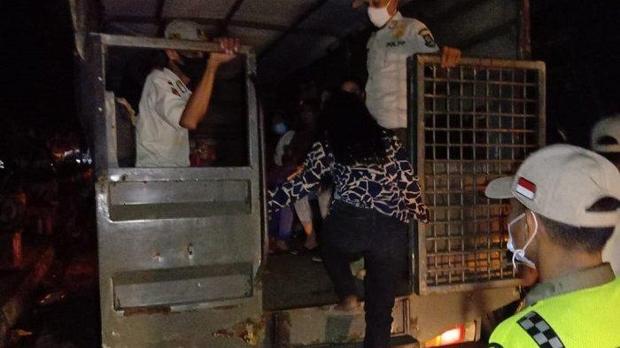 Baru Seminggu Lebaran, Belasan PSK Kembali Mangkal di Pinggir Jalan Kota Cilegon