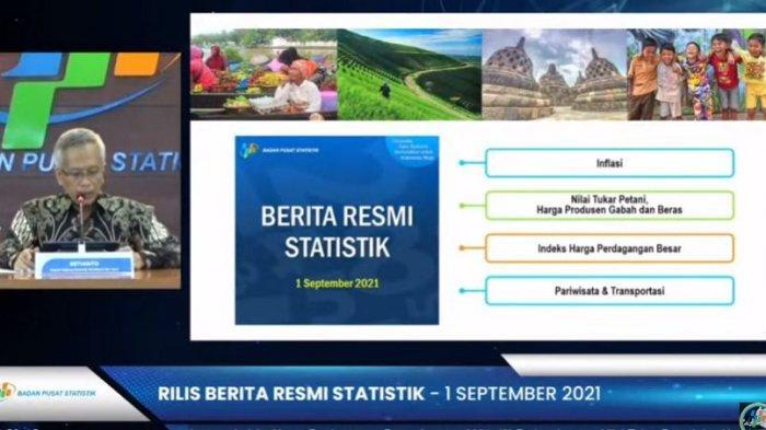 Nilai Ekspor Banten Bulan Juli 2021 Turun 4,44 Persen, Impor Naik 5,44 Persen