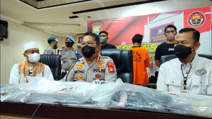 Kronologi dan Motif Pembakar Mimbar Masjid Raya di Makassar, Ketua DMI: Serahkan kepada Polisi