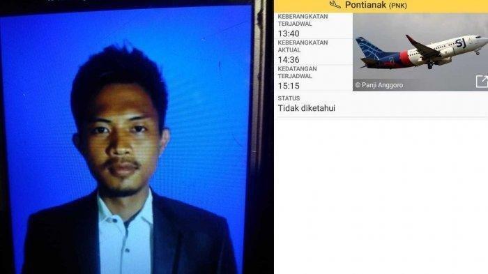 Rion Yogatama Warga Jl Kenanga II Lintas RT 5 Kelurahan Senalang Kecamatan Lubuklinggau Utara II Korban pesawat Sriwijaya Air SJ182.