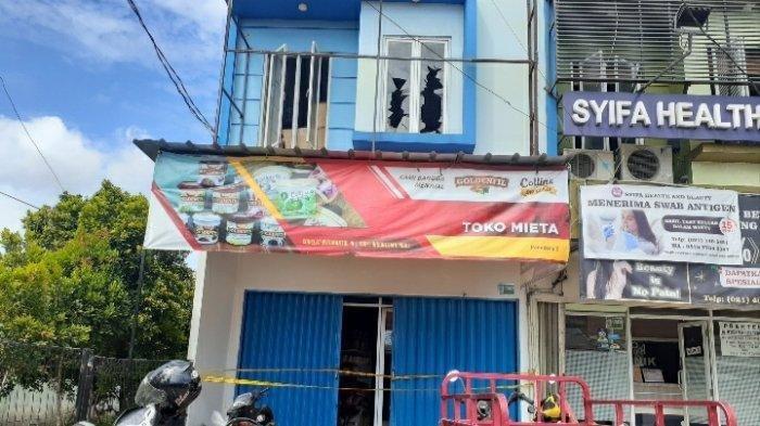 Toko Bahan Kue di Tangerang Selatan Dilahap Si Jago Merah