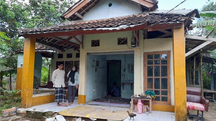 Rumah Fadli Abdi Nursyahri Sudrajat, mahasiswa Untirta yang meninggal usai mengikuti Mapala Untirta
