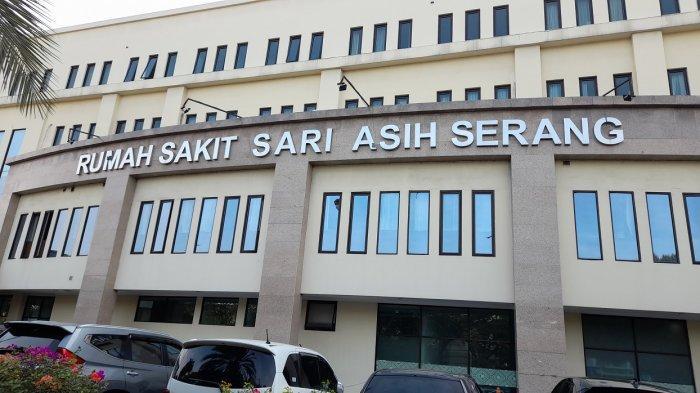 Rumah Sakit Sari Asih Kota Serang di Jalan Jenderal Sudirman, Kota Serang, Minggu (8/8/2021).