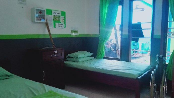 Rumah Singgah Pasien YBM PLN IZI Banten di Kota Serang.