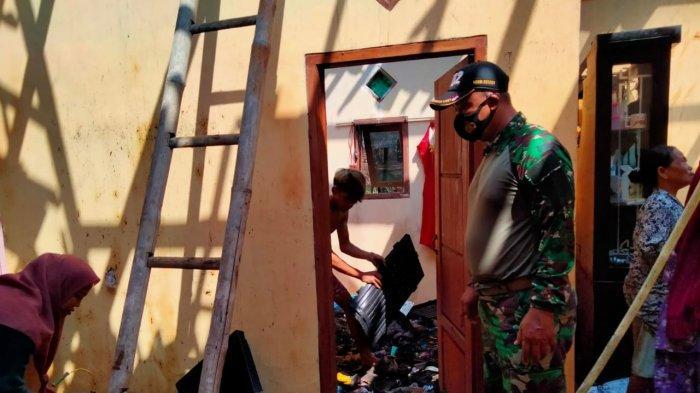 Anak Bermain Korek di Kamar, Tiba-tiba Api Membesar dan Membakar Rumah di Kragilan Kabupaten Serang