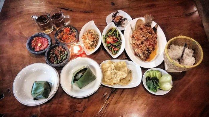 6 Rumah Makan Khas Sunda di Serang, Hidangan dengan Sambal Pedas hingga Berkonsep Pedesaan
