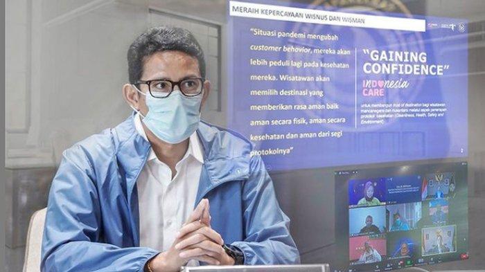 Sandiaga Uno Gandeng Kemenhub Kolaborasi Pulihkan Sektor Parekraf di 2021