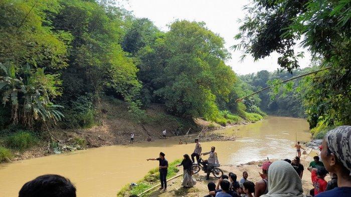 Santri Terseret Arus Sungai Ciberang Lebak, Ditemukan dalam Kondisi Meninggal Dunia