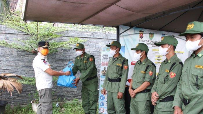 Monev Peningkatan Linmas, Satpol PP Kabupaten Serang Optimalkan Poskamling