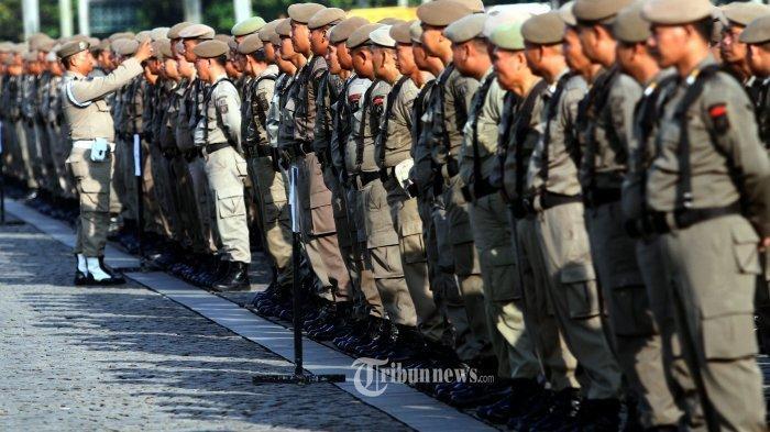 Berebut Nasi Kotak, 2 Anggota Satpol PP Berkelahi Usai Upacara HUT ke-76 RI Hingga TNI Turun Tangan